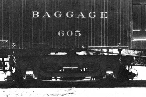 NWP 605 Baggage Truck